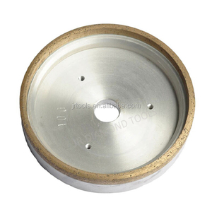 continuous rim metal bond diamond wheels for glass straight-line machine