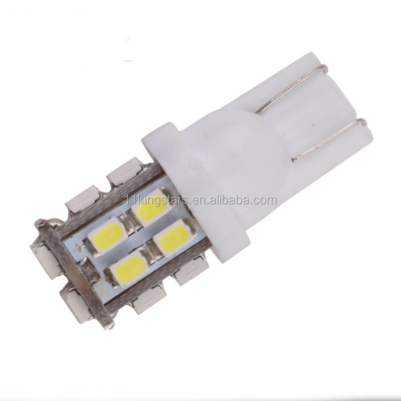 194 led bulb white 1210 26SMD LED Bulbs t10 car reading Lamp Lights Warm White led car light