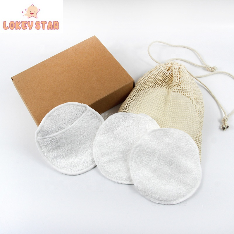 Yiwu Mode Trend Make-Up Remover Pads Zachte Ademend Bamboe Katoen Rondes Pads