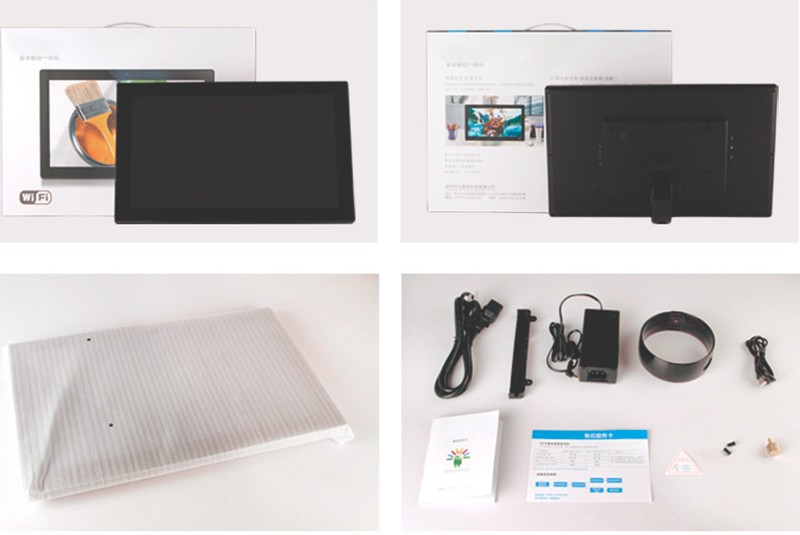 Android Tft Lcd Tablet Player 15.6 Inch Advertising Display ...