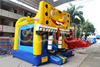 2016 new design inflatable cartoon spongebob bouncer with slide, inflatable bouncer combo for sale china