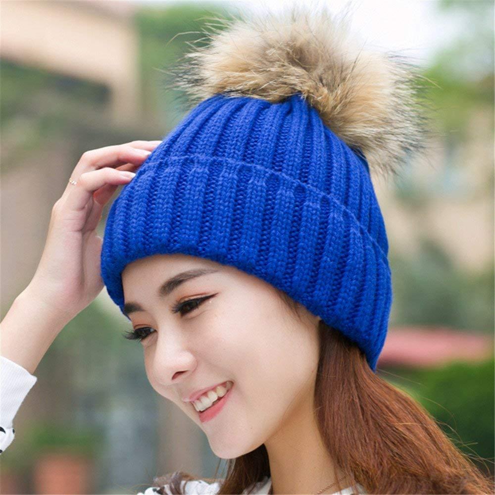 RXIN Korean Style Fashion Gorro Winter Beanie Women Hat Touca Snow Caps Knit Hat Skullies Amazing
