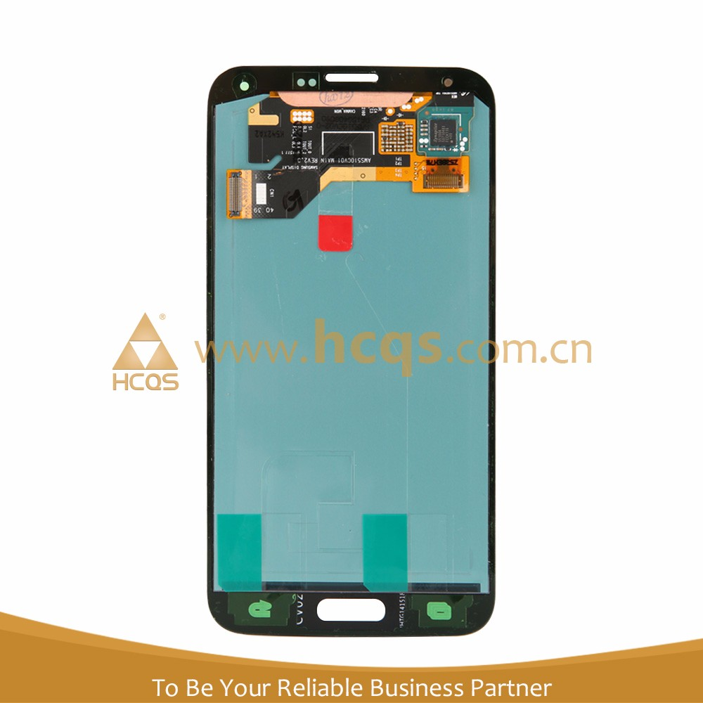 Original Replacement for galaxy s5 display screen with high copy glass in 12 month warranty
