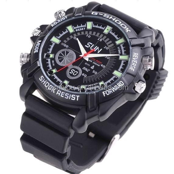 Water-proof IR Night Vision 1080P Hidden Camera Watch