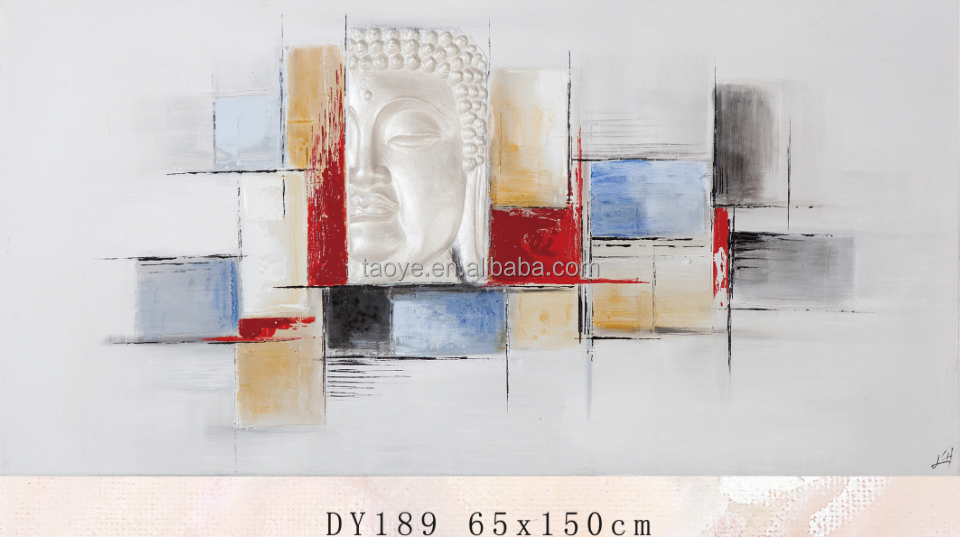 abstract sculpture oil painting for home decoration