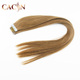 Aliexpress China Cheap Price 100% Human Virgin Peruvian 32 inches tape human hair extensions