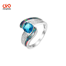 Oval Blau <span class=keywords><strong>Opal</strong></span> <span class=keywords><strong>Ring</strong></span> <span class=keywords><strong>Sterling</strong></span> <span class=keywords><strong>Silber</strong></span>