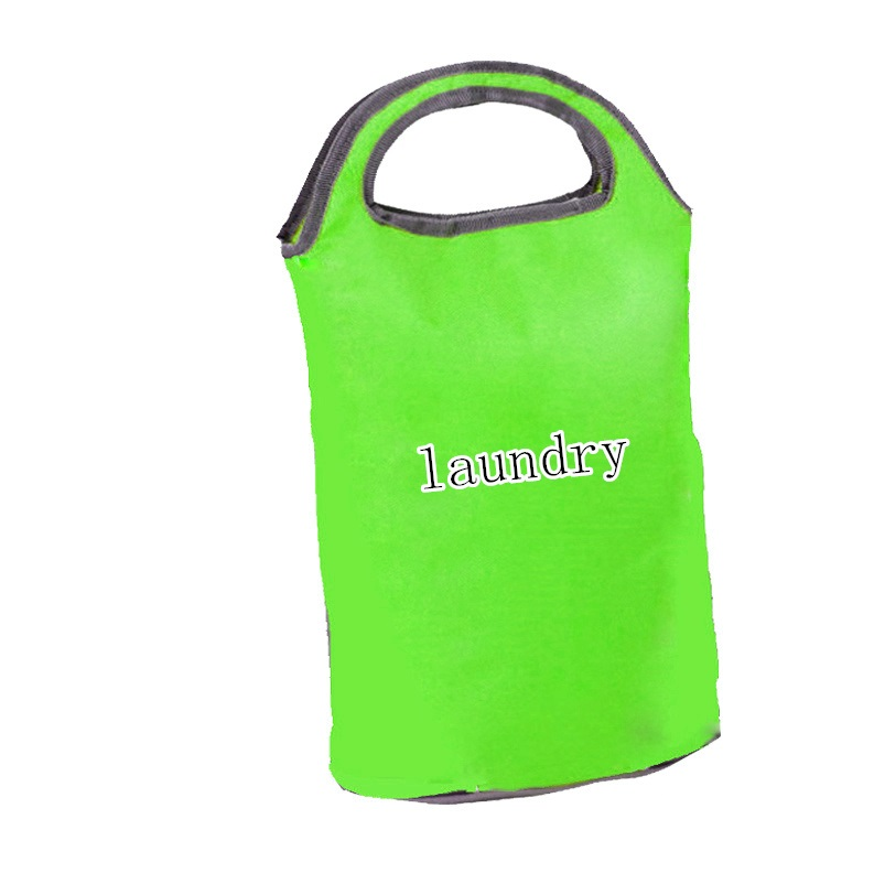 Promotion Fashion Waterproof  Portable  Laundry Wash Bag with Handle