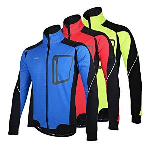 cf87f3636 Get Quotations · ARSUXEO Sports Cycling Clothes Bike Bicycle Fleece Jersey  Long Sleeve Clothing   ARSUXEO Sports Cycling Clothes