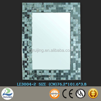 Unique Mother Of Pearl Mosaic Mirror