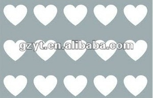 PVC cake mold embossing heart shaped anime chocolate mold