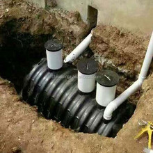 Sewage treatment used plastic septic tank for sale