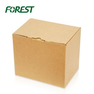 Forest Packing Perforated Cardboard Advent Calendar Packaging Box