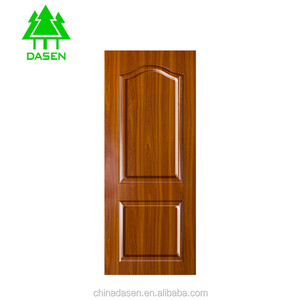 2018 hot sell melamine mdf and wood veneer mdf moulded door skin price for interior door