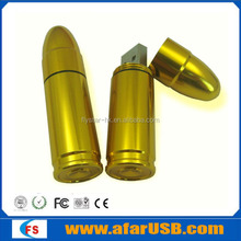 Hot selling bulk cheap metal usb flash drive bullet
