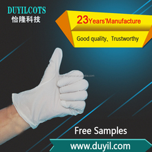 Cheap Disposable Nitrile white Color exam Gloves