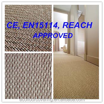 Woven Pvc Commercial Bolon Flooring For Hoteloffice Flooring Tile