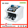 UV MG fake note detection Multi currency bill counter banknote counting machine