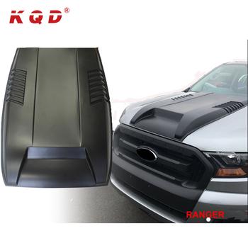 Durevole accessori auto copertura del motore hood scoop per ford ranger