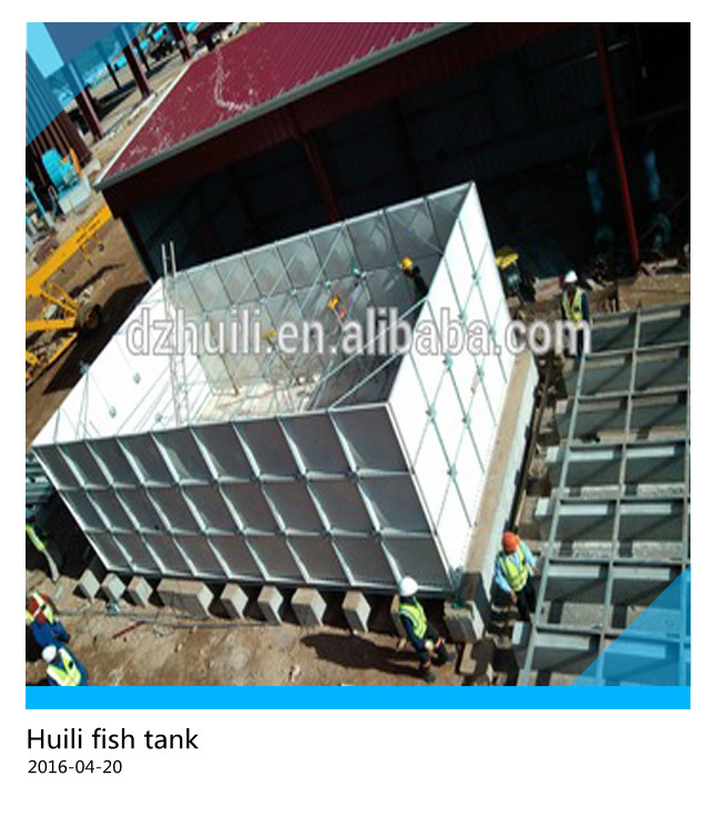 The best price!! large commercial grp frp fish water storage tanks