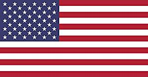 Original American Flag for Truck Car and Boat - Small American Flag - USA Red White and Blue Flag For Cars - Weather Resistant Durable Polyester - Single Sided American Flag Car Window - 13.5 x 9.25