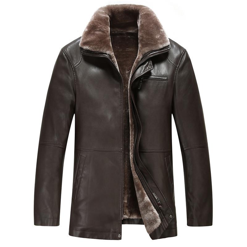 Big Size XXL XXXL Coats & Jackets Men's Leather Jackets