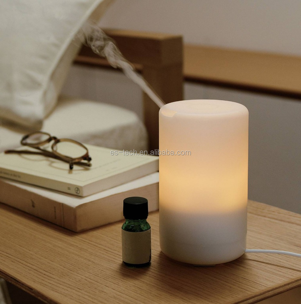 2018 USB Humidifier Ultrasonic Aroma Essential Oil Diffuser for Office Home Bedroom Living Room Study Yoga Spa