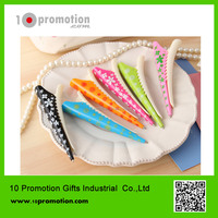 Plastic creative stationery ballpoint pen/colorful hair pin for study