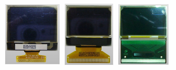 "Ritdisplay 1.3"" Mono Oled Display 128x96 Oled Panel P27201"