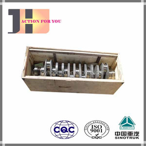 Hot Sale Truck Spare Parts Used For Sinotruk Howo Engine Part Crankshaft 161560020024