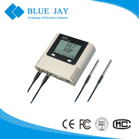 S300-DT Double Sensor Connection 43000 Readings Temperature Recorder