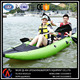 Water sports inflatable PVC kayak boat for two persons