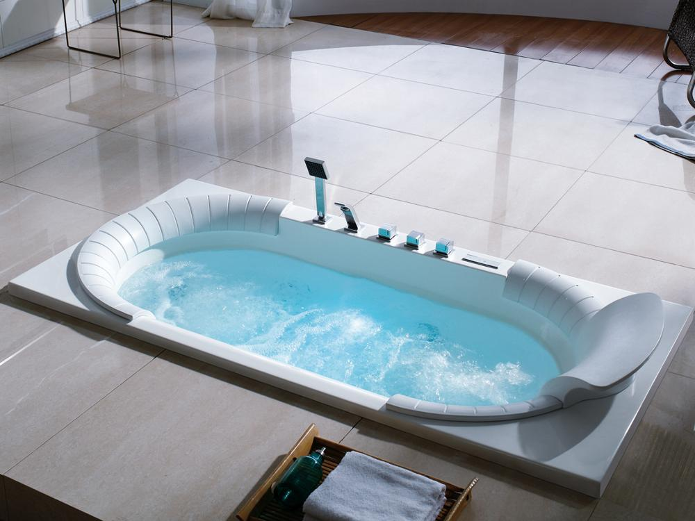 Ad-1720 Drop-in Tub With Jets And Seat Air To Water Heat Pump ...