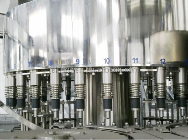 Industrial Canning Equipment : Equipos de agua coco en lata envasado