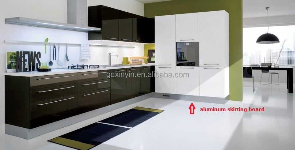 90 Grados Perfil De Aluminio Esquina Conjunta Para Mueble De Cocina ...