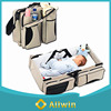3 in 1 Multifunctional travel baby bed bag baby diaper bag baby sleeping bag