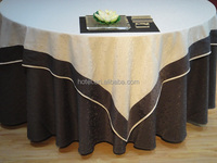 luxury party Table cloth cover for wedding restaurant