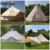 3-7m single layer Waterproof Camping Mongolian Bell Tent luxury bell tent