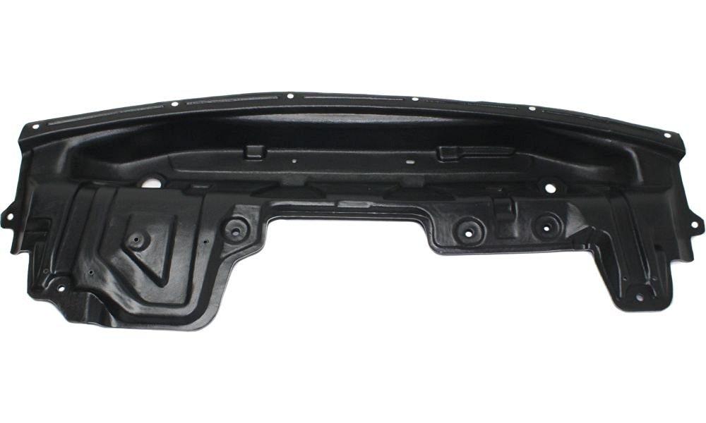 Evan-Fischer EVA201101714200 New Direct Fit Engine Splash Shield Plastic Engine Under Cover Replaces Partslink# NI1228146 Front for Nissan Quest
