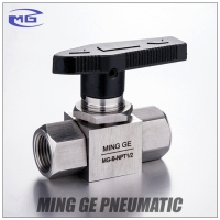 Customized Stainless steel 304 NPT BSP High pressure Quarter Turn Plug Valve