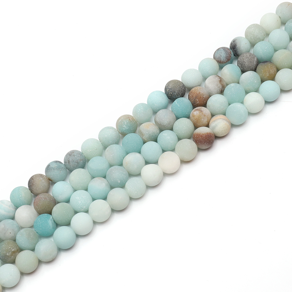 Loose Gemstone Beads Amazonite Natural <strong>Stones</strong> For Jewelry Making Beads For Bracelets And Necklace Parts To Make Jewelry