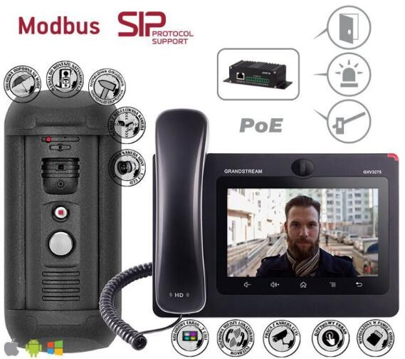 TCP/IP video door phone system Wifi Interphone with Android system