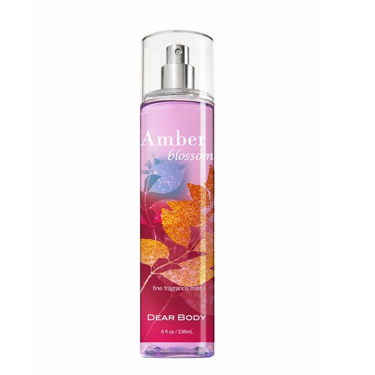 Dear Body Brand 236ml Good Quality Warm Sunshine Fine Fragrance Mist for women