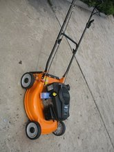 20'' lawn mower steel chasis with CE