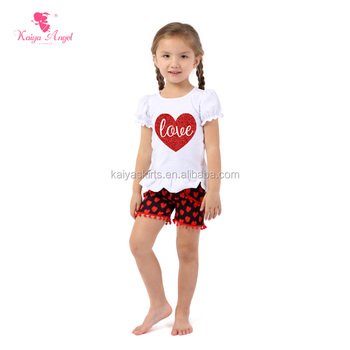 High Quality Wholesale Boutique Children S Clothing Sets Baby Girls