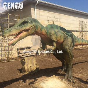 Resin rubber sound control dinosaur