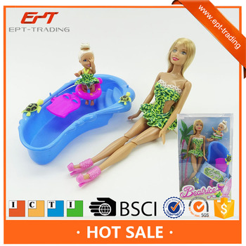 11 inch pretty silicone sexy girl doll toy for sale