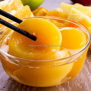 Fresh Sweet Zhenxin Brand Canned Peach Fruit in Syrup & sugar