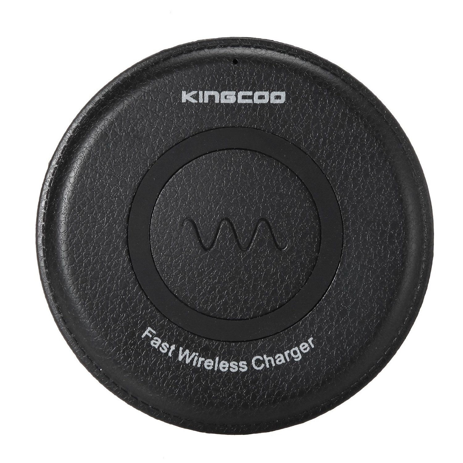 Fast Wireless Charger, KINGCOO® Fast Charge QI Fast wireless Charging Pad for Samsung Galaxy S7 S7 Edge, Note 5, S6 Edge Plus Compatible with all Standard Qi-enabled devices