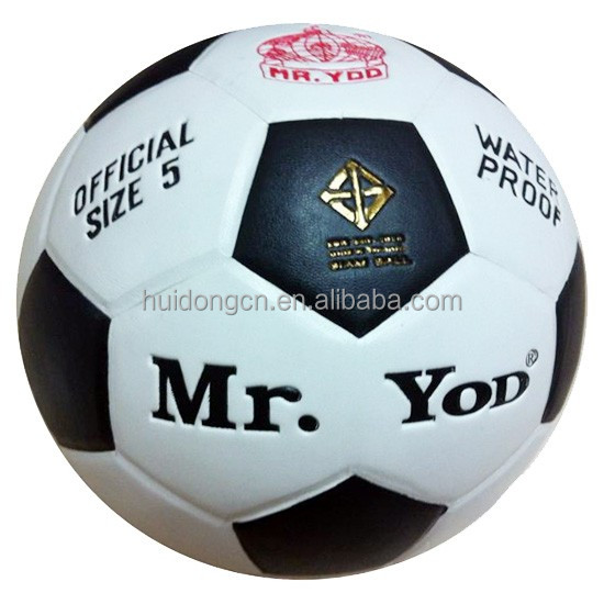 Custom printed Mr.Yod football ball PVC Laminated soccer ball wholesale size 4 size 5 Indoor and outdoor sports football ball